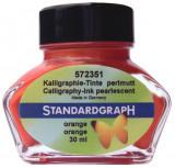 Cerneala perlata caligrafie orange Standardgraph 30 ml