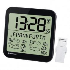 Statie meteo Bresser MyTime, termometru, higrometru, alarma