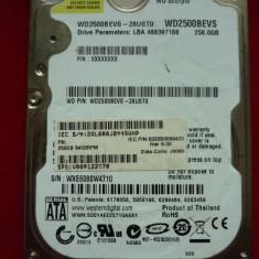 "Western Digital WD2500BEVS-26UST0 DCM:HHCT2HBB 2.5"" 250gb Sata 2"