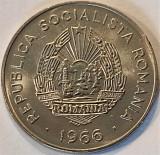 Moneda 25 Bani - ROMANIA, anul 1966 *cod 5345 = UNC