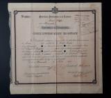 Diploma 1918 Liceul Gheorghe Lazar