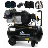 Cumpara ieftin Compresor de aer industrial 2 cilindri 530 l/min 50L 2.2kW230v B-V2-2047-50L