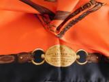 Ralph Lauren New York , esarfa noua matase naturala satinata