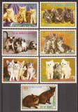 GUINEA ECUATORIALA 1976 FAUNA PISICI ( serie dantelata) MNH, Nestampilat