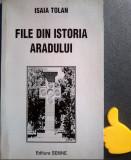 File din istoria Aradului Isaia Tolan