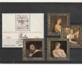 Pictura ,Rubens,Polonia., Arta, Nestampilat