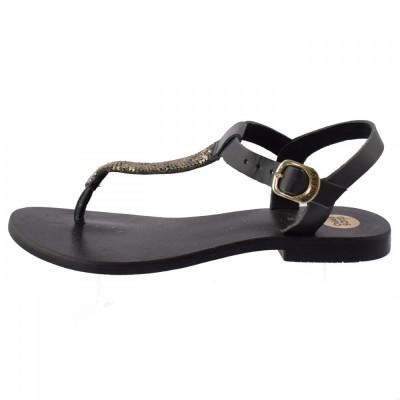 Sandale dama, din piele naturala, marca Gioseppo, 32163-1, negru 35 foto