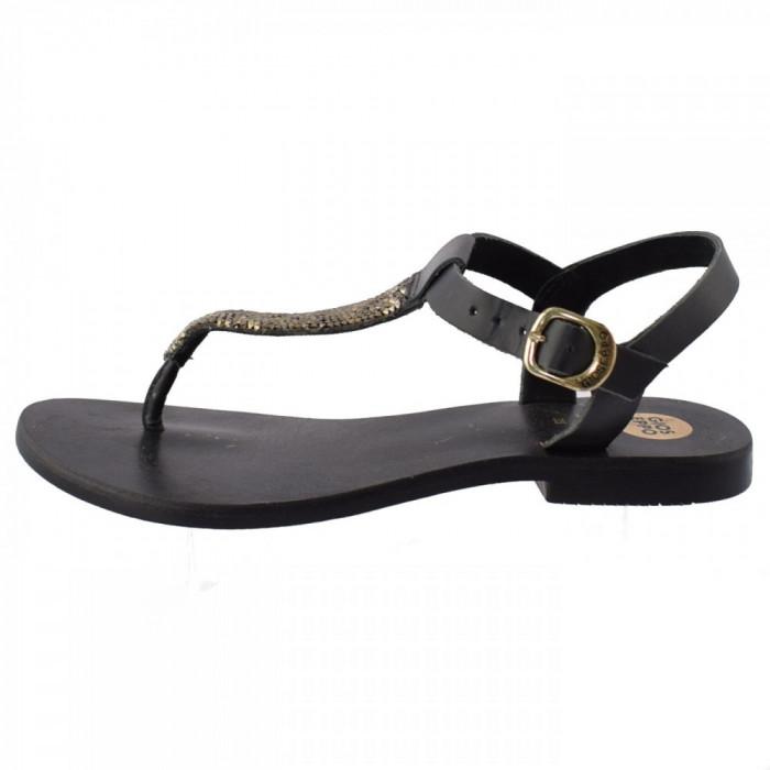 Sandale dama, din piele naturala, marca Gioseppo, 32163-1, negru 35