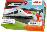 Tren De Calatori Cu Sine Si Telecomanda Swiss Express, Marklin