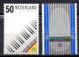 OLANDA 1985, EUROPA CEPT, serie neuzată, MNH, Muzica, Nestampilat