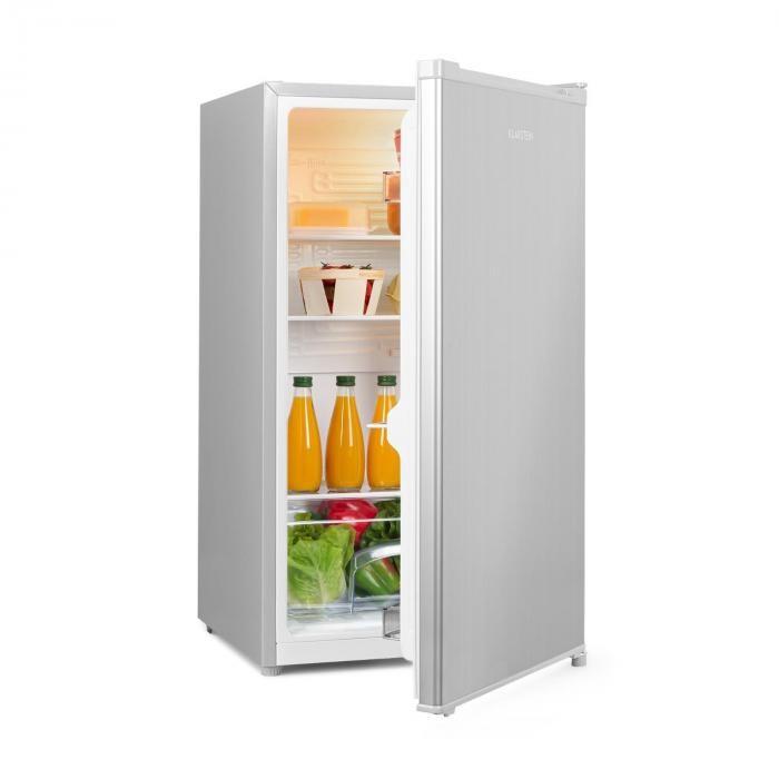 Klarstein Hudson, frigider, A ++, 88 de litri, sertar vegetal, compresie, argintie