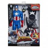 Titan Hero Series Figurina Max Venom Capitan America 30 cm, Hasbro