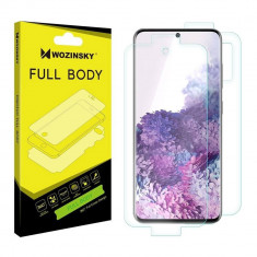 Folie Samsung Galaxy S20, Hydrogel Auto-Reparare, Self-Repair, 360°, Wozinsky