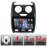 Navigatie dedicata Dacia Duster 2012-2019 B-157 Quad Core cu Android Internet Bluetooth Radio GPS WIFI 2+32GB CarStore Technology