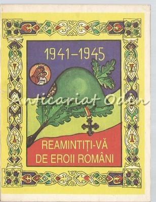 Reamintiti-va De Eroii Romani - Cimitirul Militar Al Eroilor Romani 1941-1945