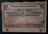 Actiuni 1922 - Soc. Industria textila - titlu - actiune