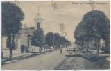3173 - Bucovina, RADAUTZ, railway - old postcard - used - 1909