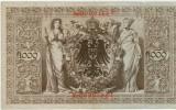 Bancnote Germania -1000 marci 1910