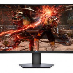 Monitor LED Gaming Curbat Dell S3220DGF 31.5 inch 4ms Black Grey