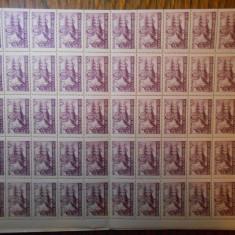 Coala regele Mihai, val. 300 lei, peste 1500 coli diferite, nestampilate