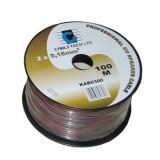 Cablu difuzor negru 0.50mm CU 100 m