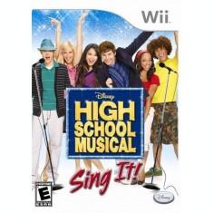 Joc Nintendo Wii Disney High School Musical Sing It