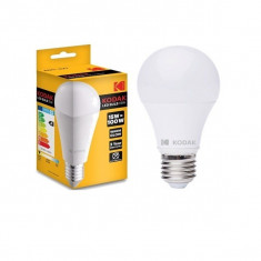 Bec LED Kodak 15W, alb rece, E27, 1450 lumeni, 6000 k, clasa A+