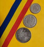 SV * Romania LOT RPR 10 - 25 - 50 BANI 1955 +/- XF, Cupru-Nichel