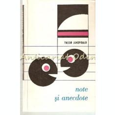 Note Si Anecdote - Tasso Janopoulo