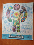 revista luminita iunie 1979-revista editata de consiliul national al pionierilor