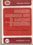 Abdomenul Chirurgical Acut In Obstetrica Si Ginecologie - Gheorghe Teleman