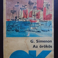 Az orokos - G. Simenon