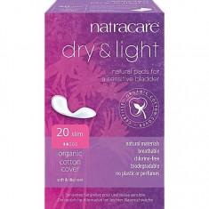 Absorbante light pentru incontinenta urinara, Natracare