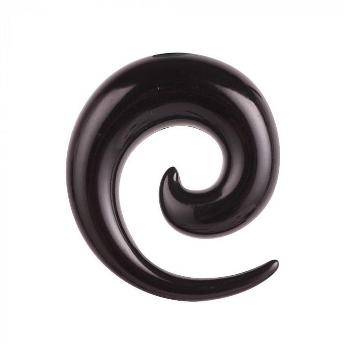 Cercei Barbati  baieti toarte ureche expander de 8 mm negru