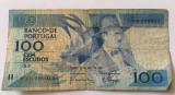 Portugalia 100 escudos 1988 Fernando Pessoa