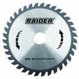 Cumpara ieftin Disc circular Raider, 210 х 30 mm, 24 T