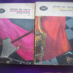 HOPCT  CINQ MARS / ALFRED DE VIGNY -2 VOLUME- 1971 - 662  PAGINI