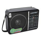 Cumpara ieftin Radio portabil Leotec LT-606B, mufa jack