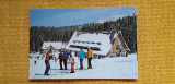 Predeal - Hotel Clabucet sosire - carte postala circulata 1975