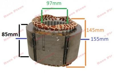 Stator generator 2 - 5 kw (Gx 160, 168F etc) Cupru (Monofazic) foto