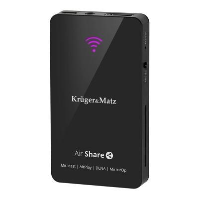 Air Share DLNA Miracast Kruger Matz KM0178, Negru foto
