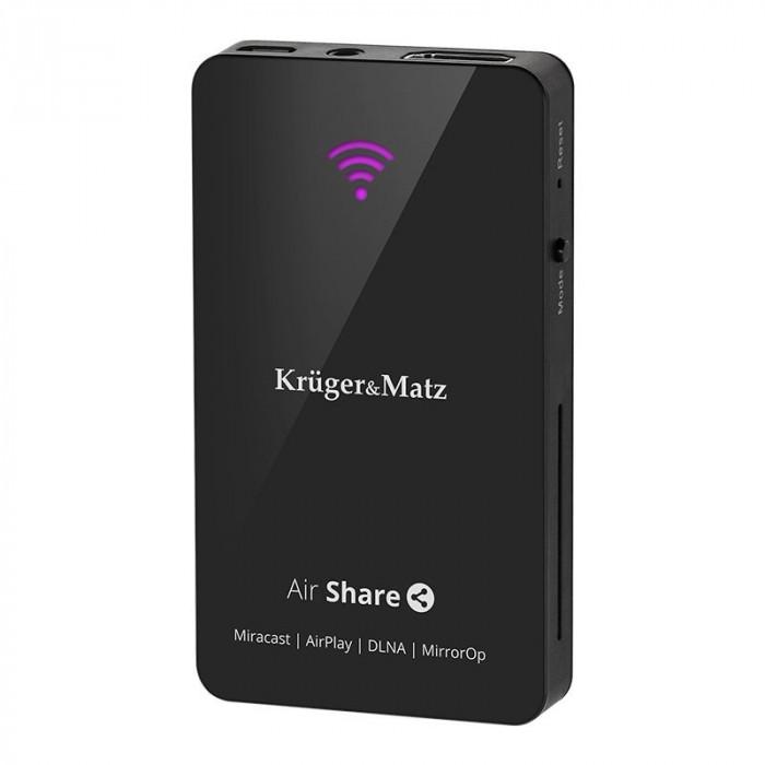 Air Share DLNA Miracast Kruger Matz KM0178, Negru