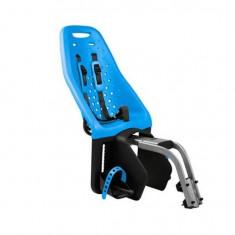 Scaun pentru copii cu montare pe bicicleta in spate Thule Yepp Maxi Framemounted Blue
