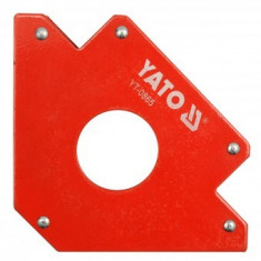 Dispozitiv magnetic fixare pentru sudura, Yato YT-0865, 34 kg, magnetic
