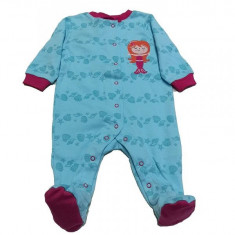 Salopeta / Pijama bebe cu imprimeu marin Z10