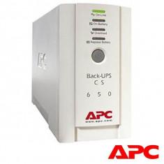 UPS Backup APC BK650EI 650VA, White, Tower, Acumulatori Originali, 2 ANI GARANTIE