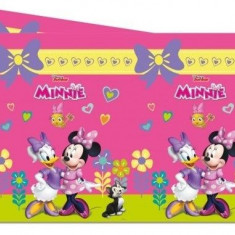 Fata de masa plastic 120x180cm Minnie Mouse Happy Helpers