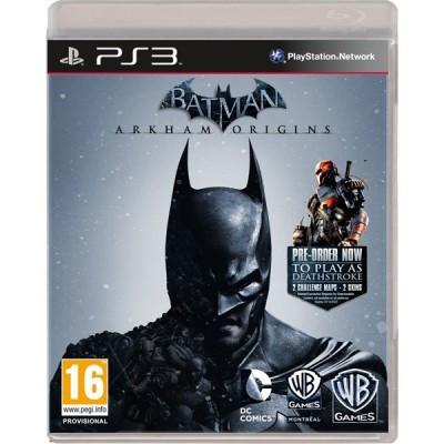Batman Arkham Origins PS3 foto