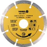 Disc diamantat segmentat 115 mm Vorel 08711