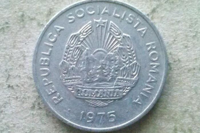 MONEDA 15 BANI 1975-ROMANIA